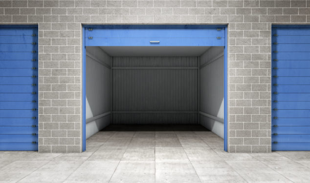 Self storage is one possible solution to prohibitively high leases