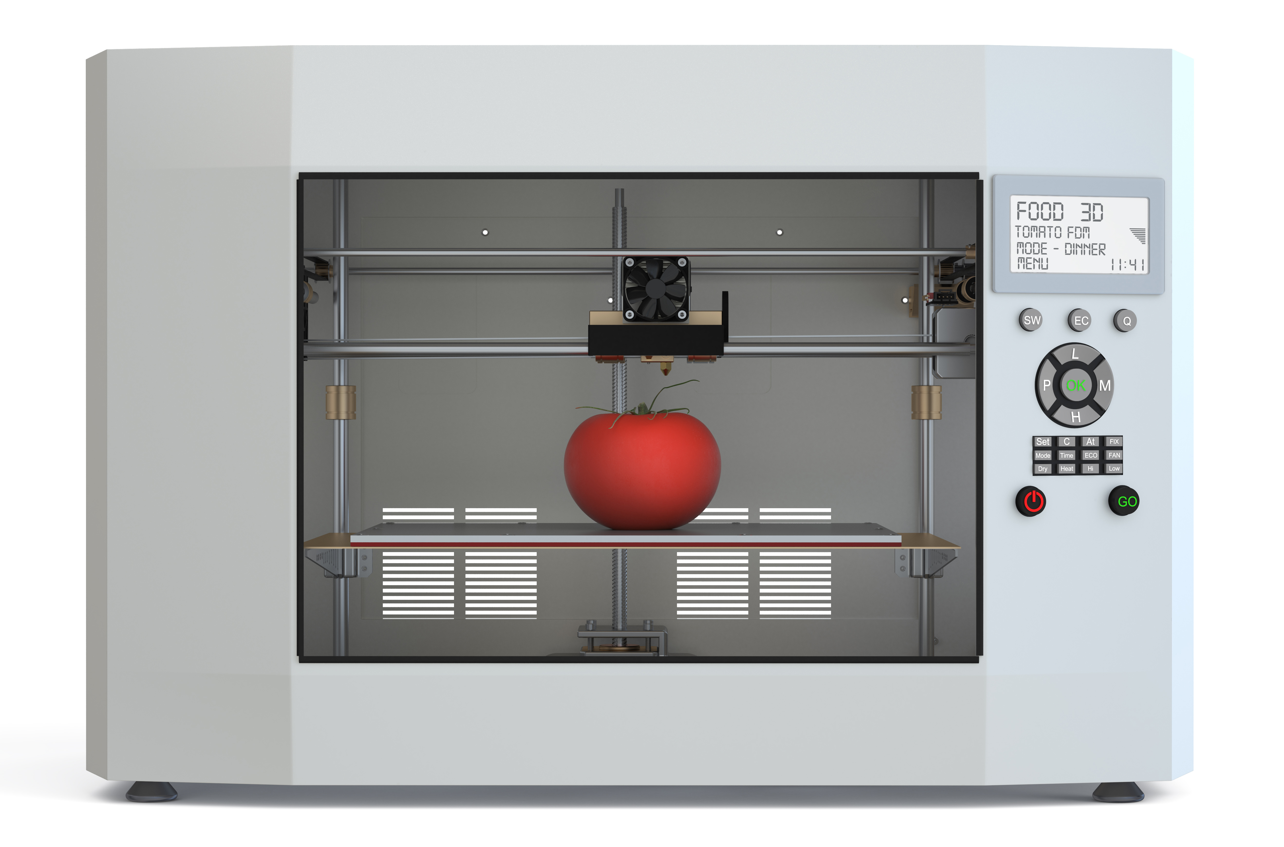 How 3D printing could improve the future of food