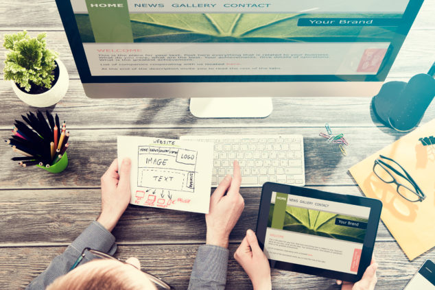 Your website is the online presence that you actually own and can control