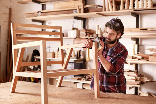 Make sure you specify the exact kind of furniture you will make