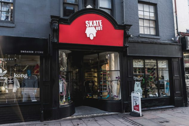 SkateHut started off as at at-home business and grew into a multi million pound company