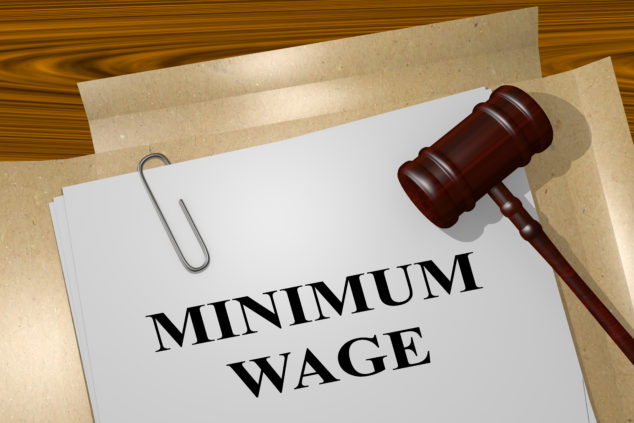 Some businesses still pay workers less than the minimum wage