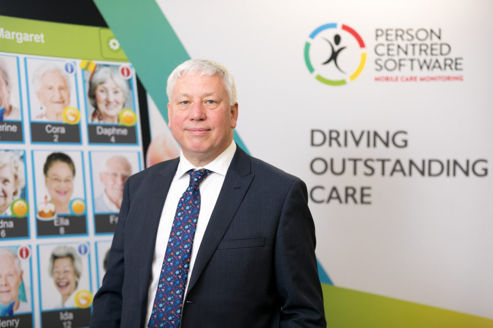 Jonathan Papworth, director of Person Centred Software