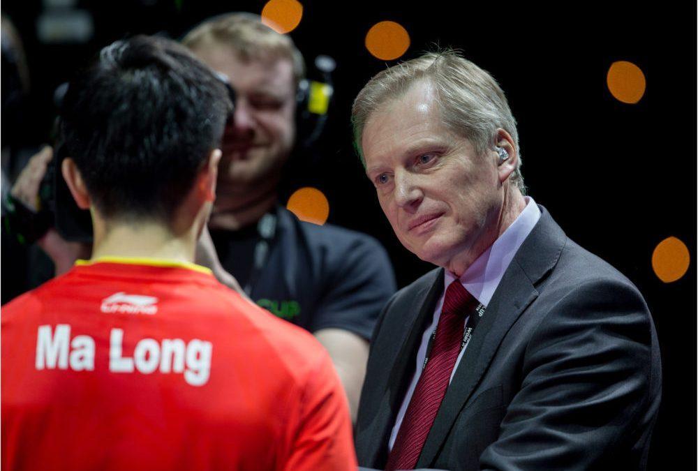 Commonwealth table tennis medallist, Colin Wilson