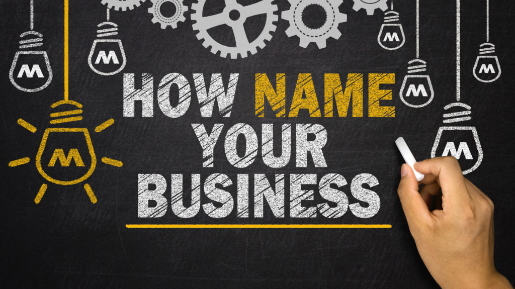 How to choose a great name for your new business