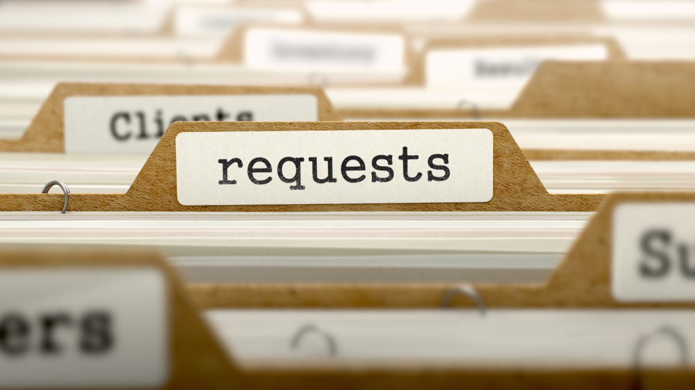 What should I do if I get a subject access request?