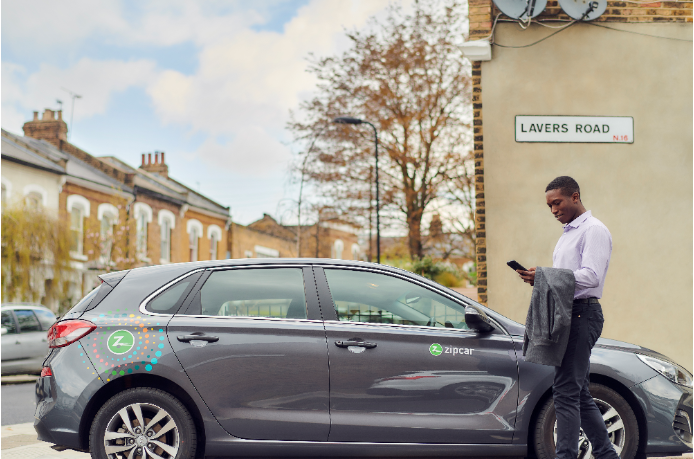 Get your first year with Zipcar for Business for free this January
